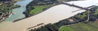 Rundflug Hochwasser