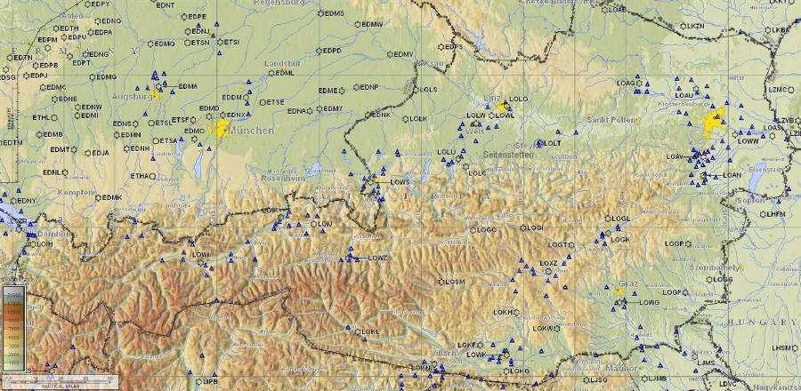 Oesterreich-Karte