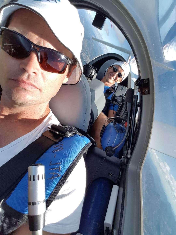Michael Maurer und Michael Sturm im Twin 3 SL